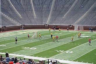Ohio State Buckeyes men's lacrosse - Image: Ohio State vs. Michigan men's lacrosse 2015 30
