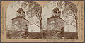 Old Belfry from which the Continental soldiers were warned of the advance of the British, Lexington, Mass., U.S.A, from Robert N. Dennis collection of stereoscopic views.jpg