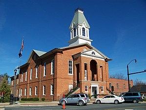 Historic Chesterfield County Courthouse at Chesterfield