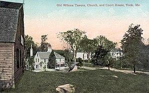 York, Maine - York Village in 1908