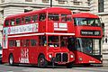 Old and New Routemasters in Whitehall (32629295114).jpg