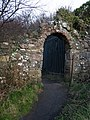 Old entrance gate, Seahill - geograph.org.uk - 720791.jpg