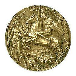 2aa5cbd7d0 IV. nyári olimpia. Olimpiad medal 1908 2.jpg