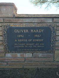 Oliver Hardy Grave.JPG