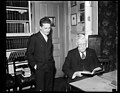 Oliver Wendell Holmes, Jr., right LCCN2016889963.jpg