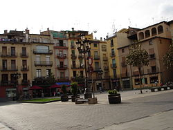 The Plaça Major of Olot