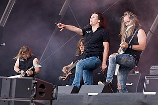 Omnium Gatherum Finnish melodic death metal band