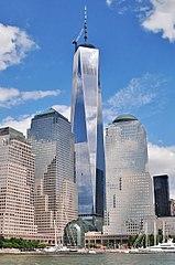 世界貿易中心 一號大樓,曼哈顿下城