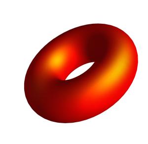 Uniformization theorem - Image: Orange Torus