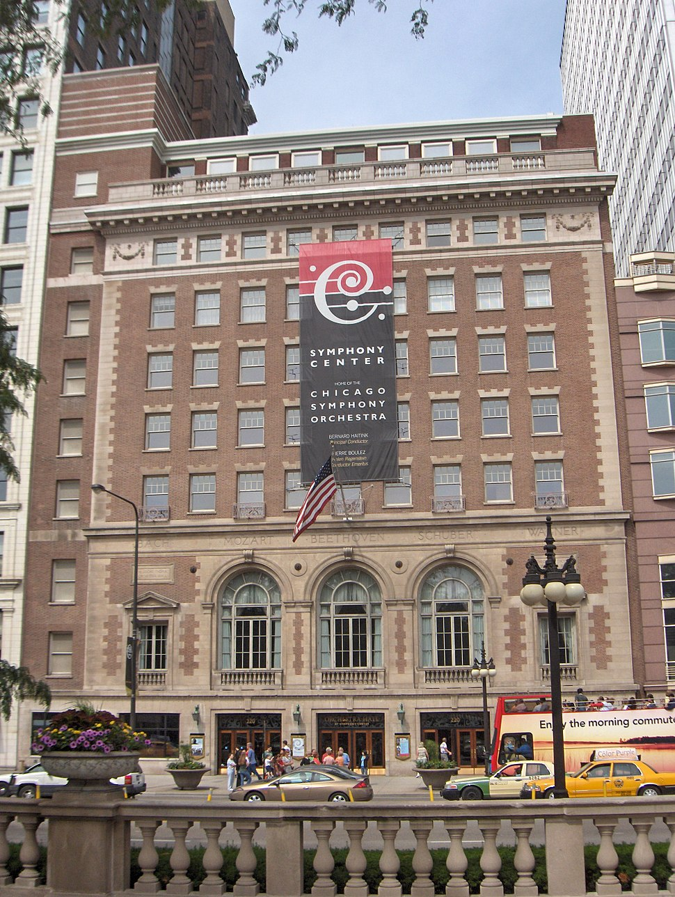 Orchestra Hall, Chicago Symphony Center