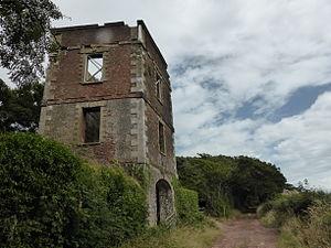 Orielton, Pembrokeshire - Orielton tower