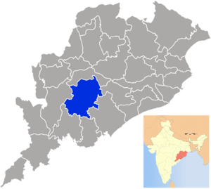 Kandhamal district - Image: Orissa Kandhamal