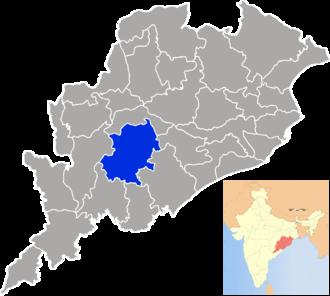 Kandhamal district - Image: Orissa Kandhamal