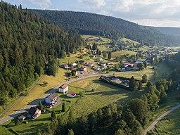 Ortsteil Nonnenmiß der Gemeinde Enzklösterle