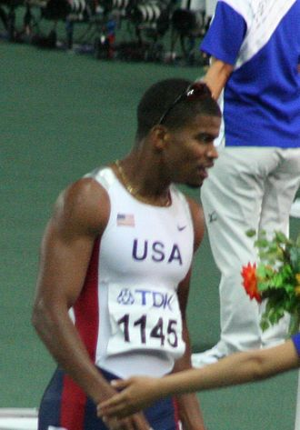 Terrence Trammell - Trammell at the 2007 World Championships