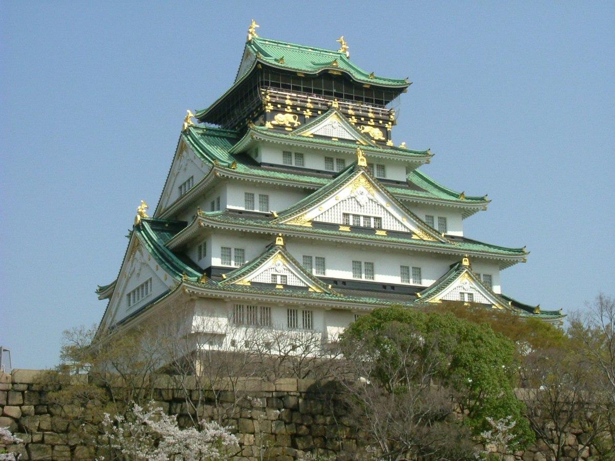Osaka Castle Wikipedia