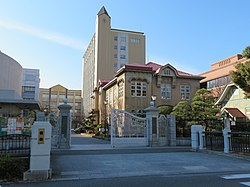 Osaka Shoin Women's University Main Gate.jpg