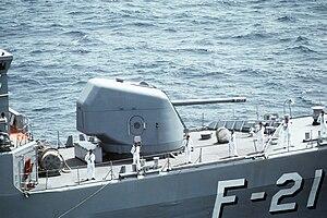 Otobreda 127/54 Compact - Otobreda 127mm/54C  on Venezuelan frigate Mariscal Sucre (F-21)