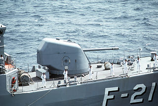 naval artillery by Oto Melara