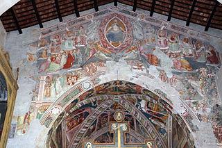 Storie di sant'Agostino e Giudizio universale