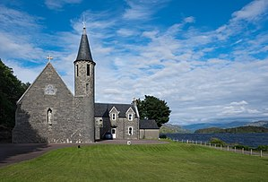 Morar - Image: Our Lady of Perpetual Succour & St Cumin, Morar