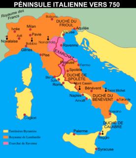 byzantinischer Verwaltungsbezirk in Italien
