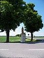 Přední Kopanina, socha svatého Václava (01).jpg