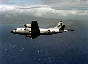 Surveillance aircraft - US Navy P-3B Orion near Hawaii