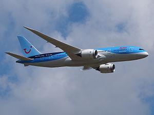 TUI Travel - Image: PH TFK Arke Fly Boeing 787 8 Dreamliner pic 2