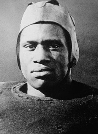 Paul Robeson - Robeson in football uniform at Rutgers, c. 1919