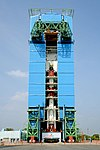 PSLV-C44 integrated upto fourth stage at MST.jpg