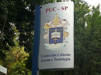 Pontifical Catholic University of São Paulo - School of Exact Sciences and Technology, in 'Consolação' campus