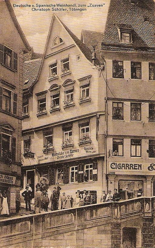 P Sinner - Weinhandlung Zuaven 1905 (TPk178)