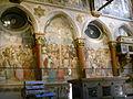 Padova, basilica del santo, crocefissione di altichiero.JPG