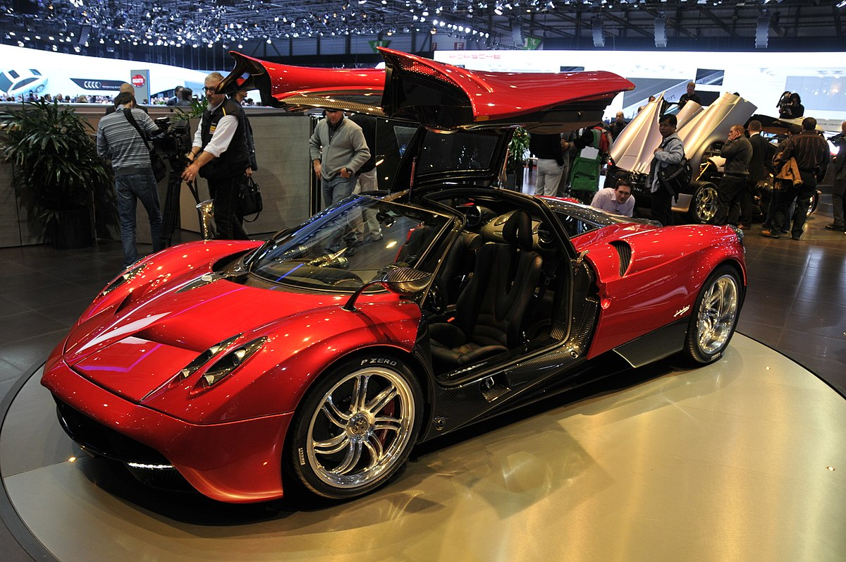 pagani huayra wikip dia. Black Bedroom Furniture Sets. Home Design Ideas