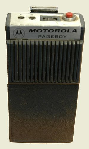 Motorola Pageboy - Motorola Pageboy, model H03BNC1102D0