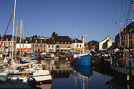 The harbor of Paimpol