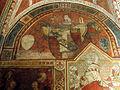 Palazzo comunale di s. miniato, sala delle sette virtù, stemma vettori.JPG