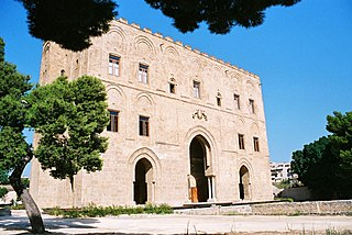 castle in the western part of Palermo, Sicily