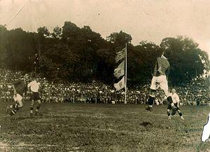 Sociedade Esportiva Palmeiras - Palestra Italia against Corinthians in the 1920s