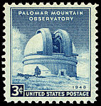Palomar Mountain Observatory 3c 1948 issue U.S. stamp.jpg