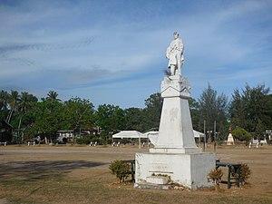 Panglao, Bohol - Image: Panglao Rizal Monument