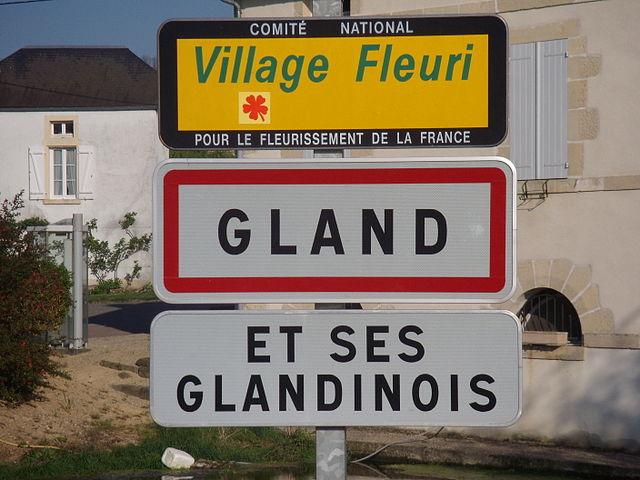 Gland Ville France Habitants