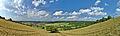 Panoramatický pohled na Valchov od jihu, okres Blansko.jpg