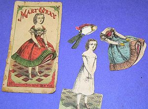 Paper doll - Paper doll with clothes