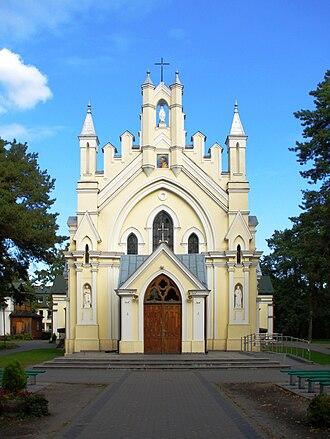 Józefów - Image: Parafia MB Cw Jozefowie