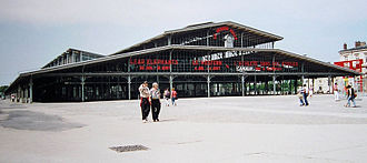 Grands Projets of François Mitterrand - Grande halle at the Parc de la Villette.