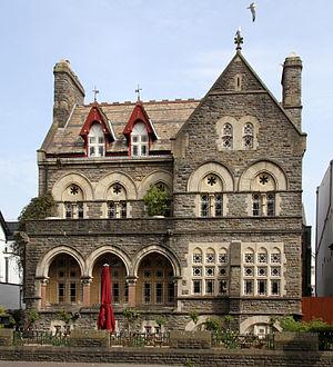 Park House, Cardiff - Image: Park House (16939542687)