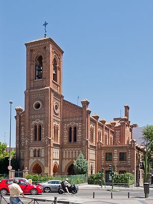 Latina (Madrid) - Church of Santa Cristina