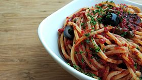 Image illustrative de l'article Spaghetti alla puttanesca